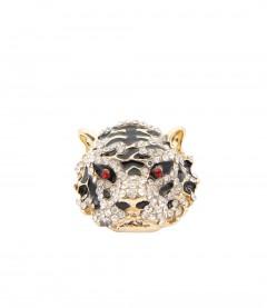 Ring - Tiger, schwarz