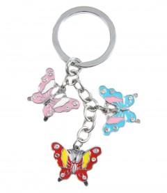 Schlüsselanhänger - Schmetterling, multi