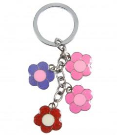 Schlüsselanhänger - Blumen, multi