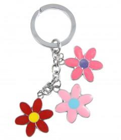 Schlüsselanhänger - Blume, multi