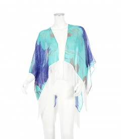 Kimono - Abstrakt, blau
