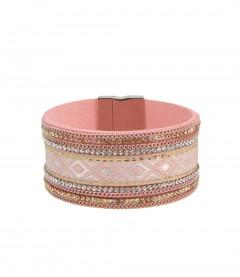 Armband, rosa