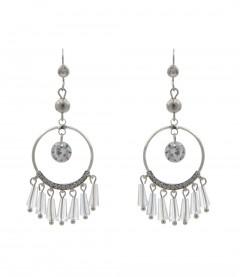 Ohrring - Chandelier, kristall