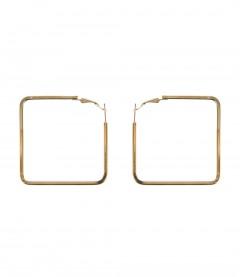 Creolen - metallic, gold