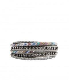 Armband, grau