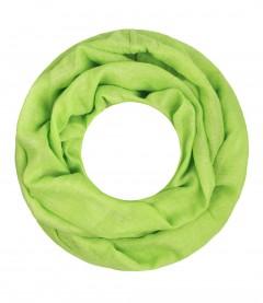 Majea Loop Cary - Loop Schal einfarbig, hellgrün