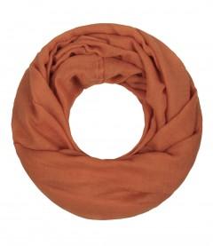 Majea Loop Cary - Loop Schal einfarbig, orange
