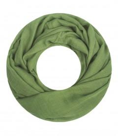 Majea Loop Cary - Loop Schal einfarbig, grün