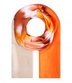 Daman Halstuch - Farbverlauf orange