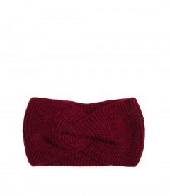 Damen Stirnband - Knoten, rot