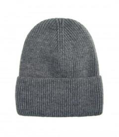 Basic Beanie Mütze - Feinstrick, dunkelgrau