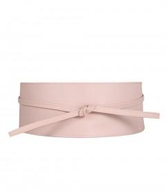 Damen Bandgürtel, rosa